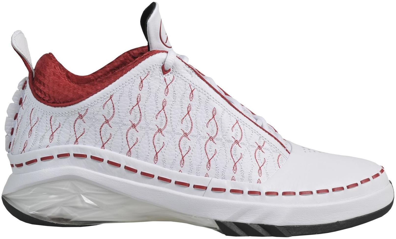 Jordan 23 Low White Varsity Red