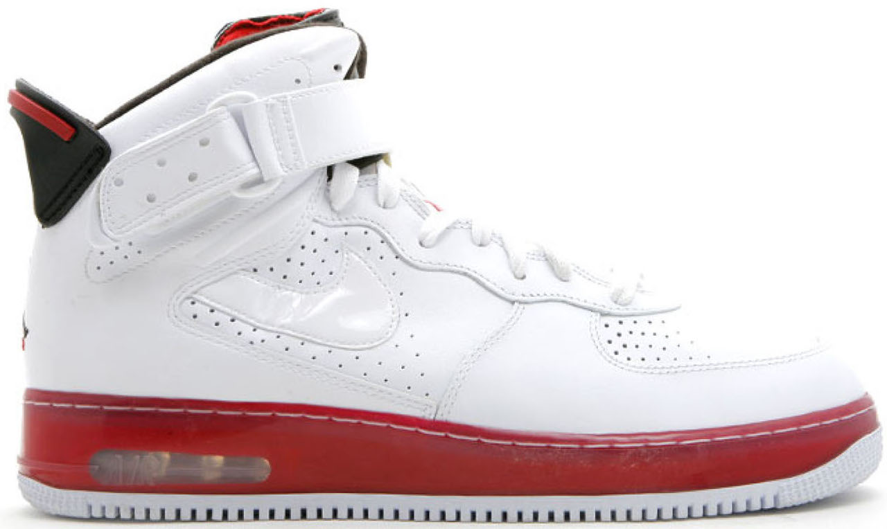 Jordan Fusion 6 Varsity White Red