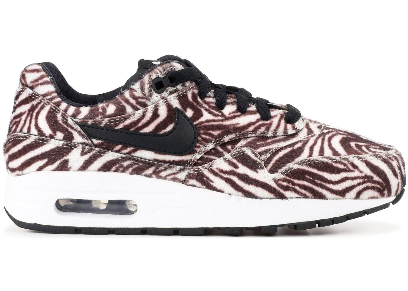 Jadeo viuda novedad  Nike Air Max 1 Zebra (GS) - 827657-100