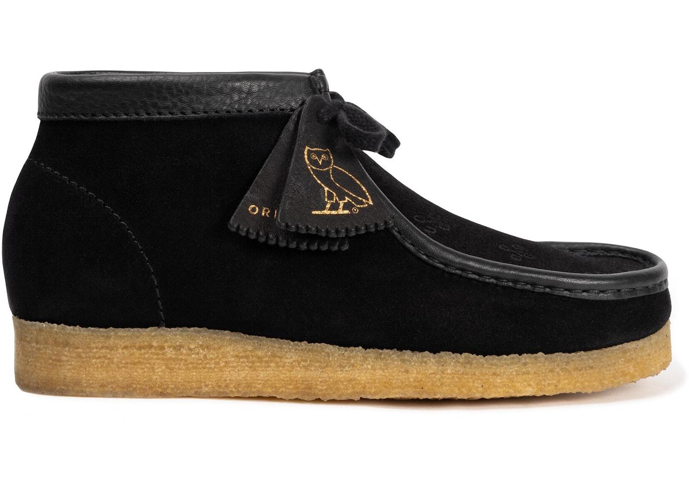 pacífico ideología a lo largo  Clarks Wallabee OVO Black - Sneakers