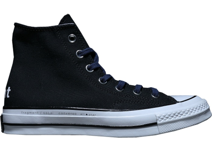 Converse Chuck Taylor All-Star Hi sacai x fragment Black