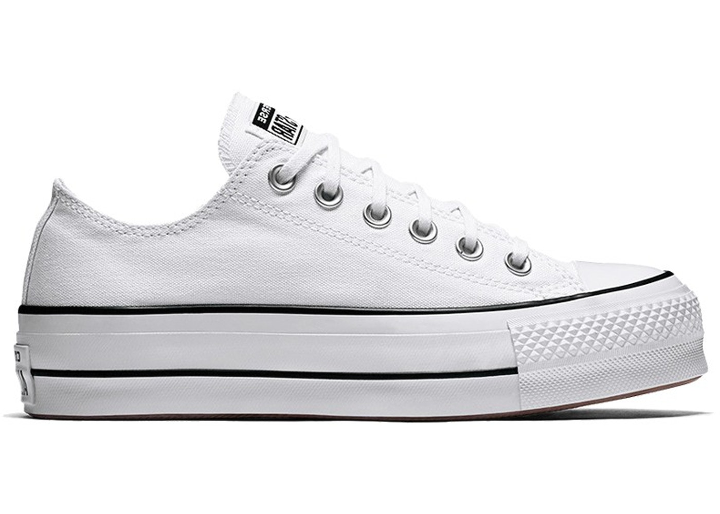 Converse Chuck Taylor All Star Lift Ox White Black W 560251c