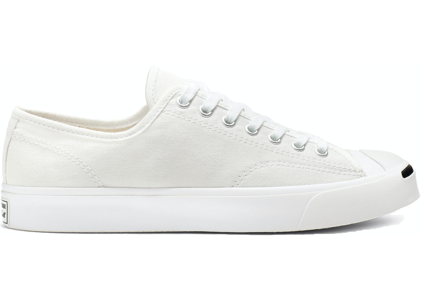 por inadvertencia Natura Mediante  Converse Jack Purcell Canvas Low White - 164057C