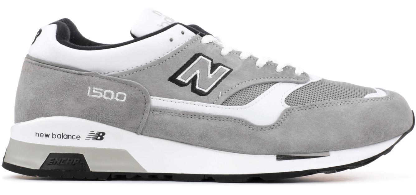 New Balance 1500 Grey White Silver - M1500GWS