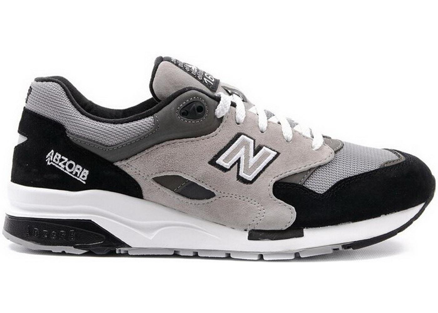 New Balance 1600 Grey Black - CM1600CB