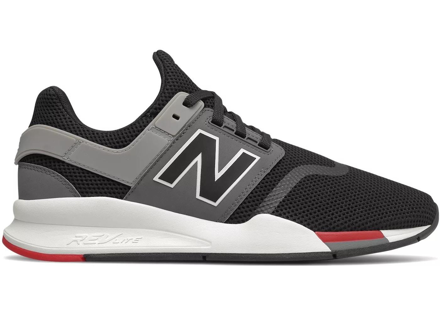 New Balance 247 Black Grey Red - MS247FB