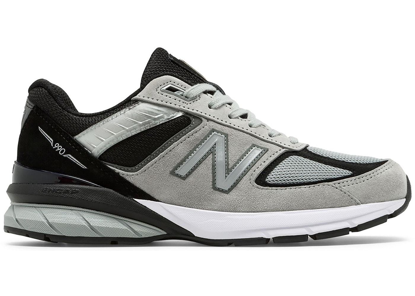 New Balance 990v5 Kool Grey Black