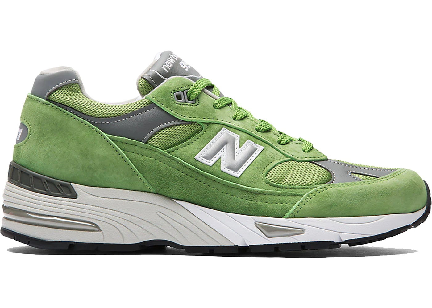 New Balance 991 Green (Made in UK) - Sneakers