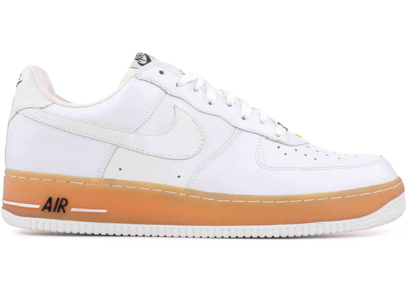 entusiasta Sucio Perdido  Nike Air Force 1 Low JD Sports White Gum Midsole - 306353-902