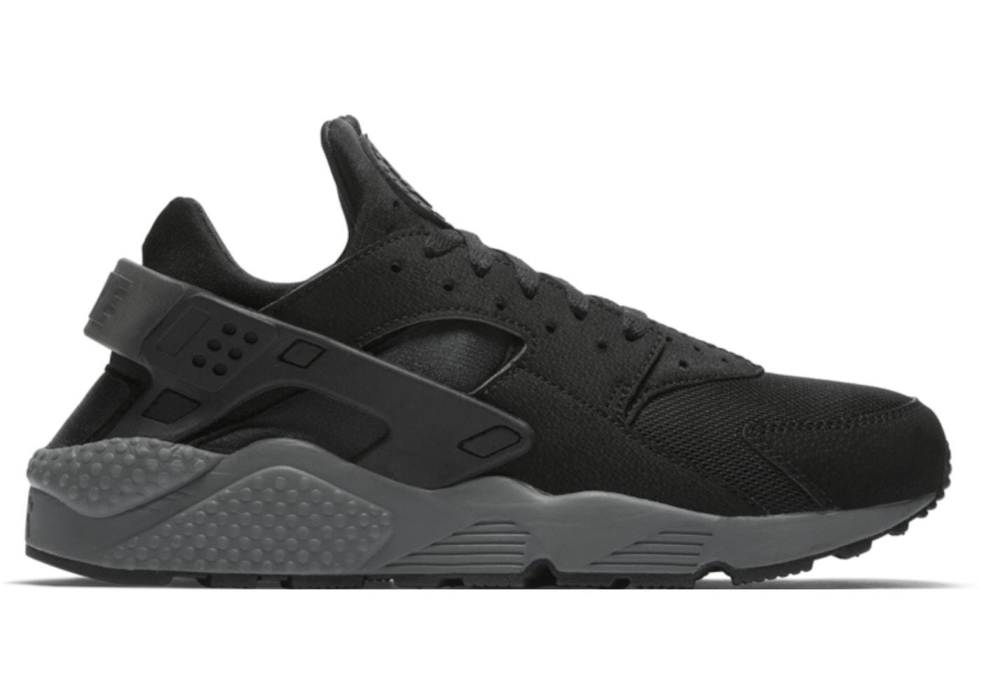 Regaño Hacer péndulo  Nike Air Huarache Black Black Grey - 318429-010