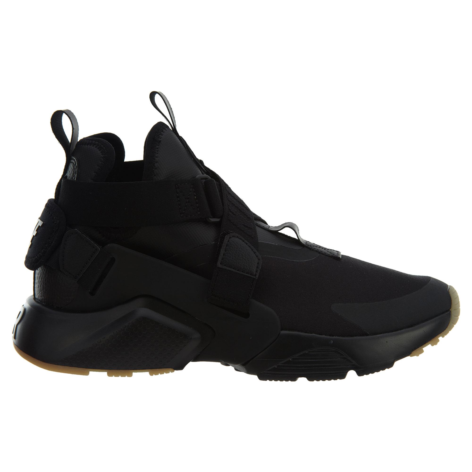 Nike Air Huarache City Black Black-Dark Grey (W) - AH6787-003