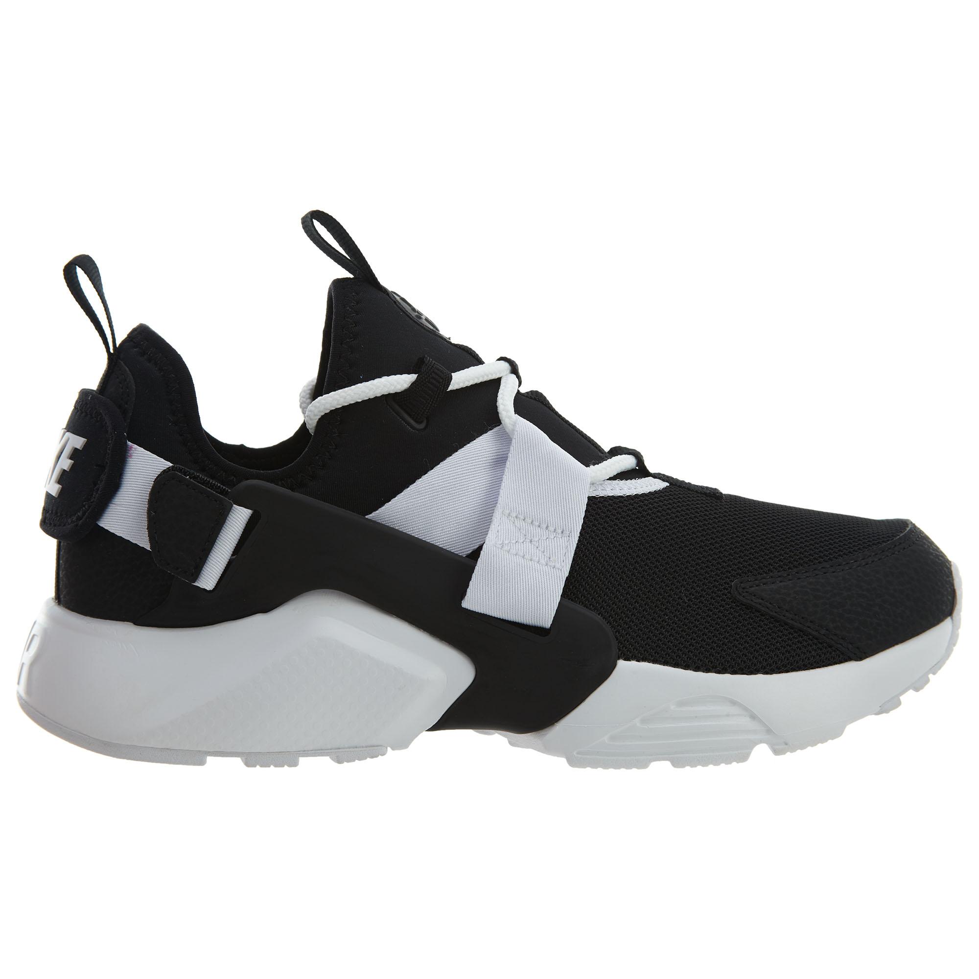 Nike Air Huarache City Low Black Black-White (W)