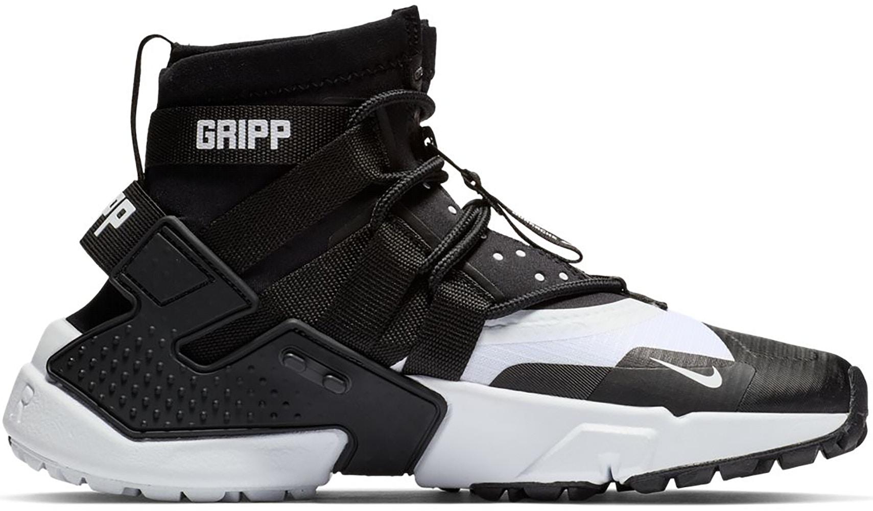 Nike Air Huarache Gripp Black White - AO1730-005