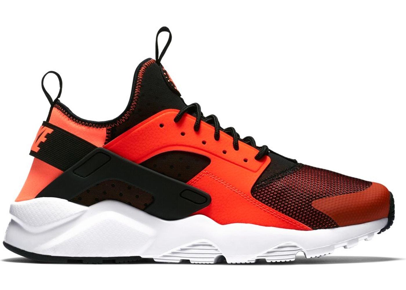 Nike Air Huarache Run Ultra Black Total Crimson - 819685-008