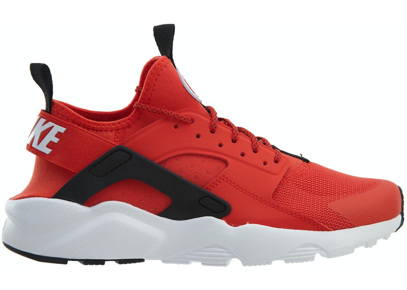 Dental grande Precursor  Nike Air Huarache Run Ultra Habanero Red White-White-Black - 819685-606