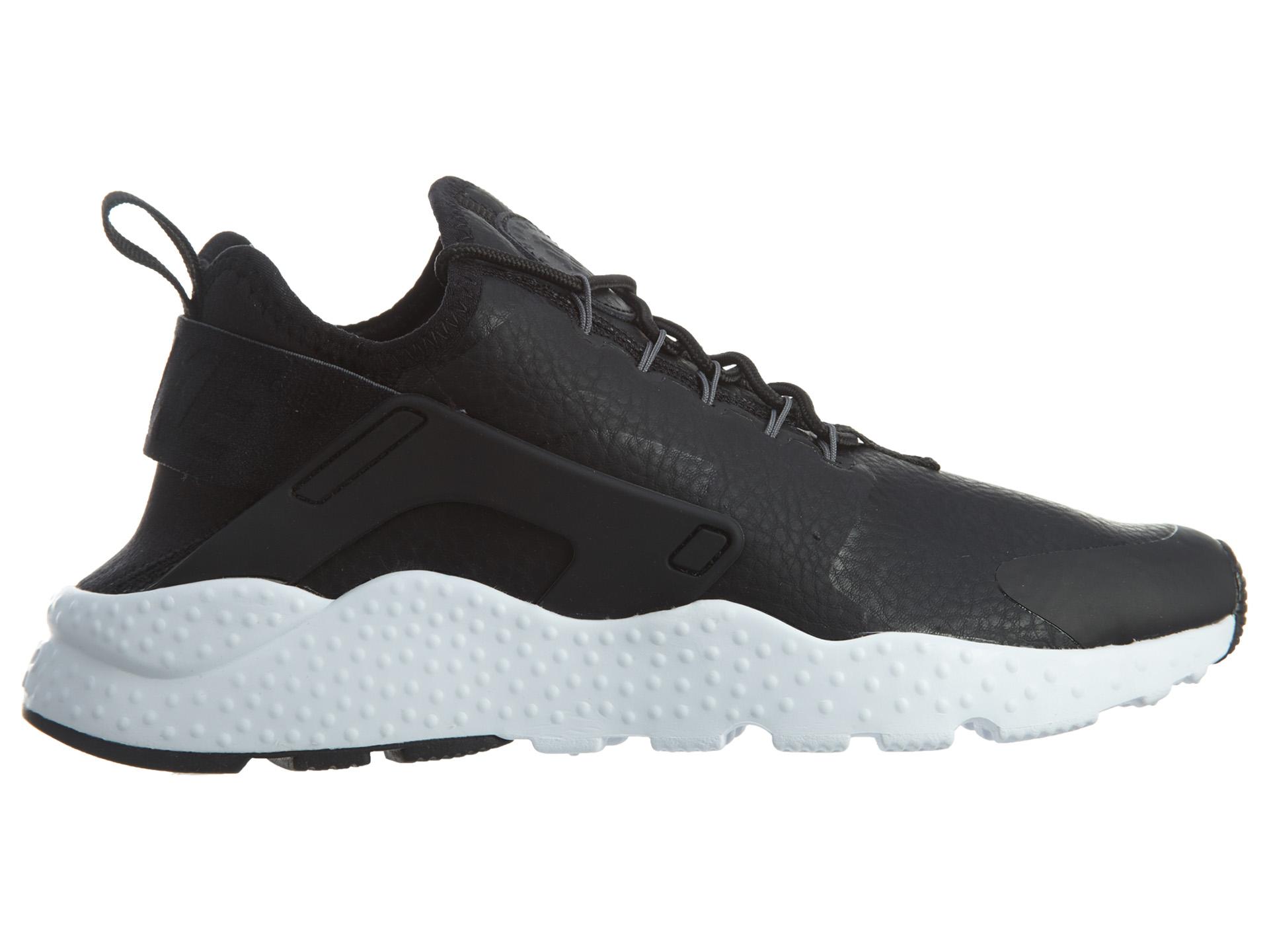 Nike Air Huarache Run Ultra Prm Black Dark Grey-White (W)