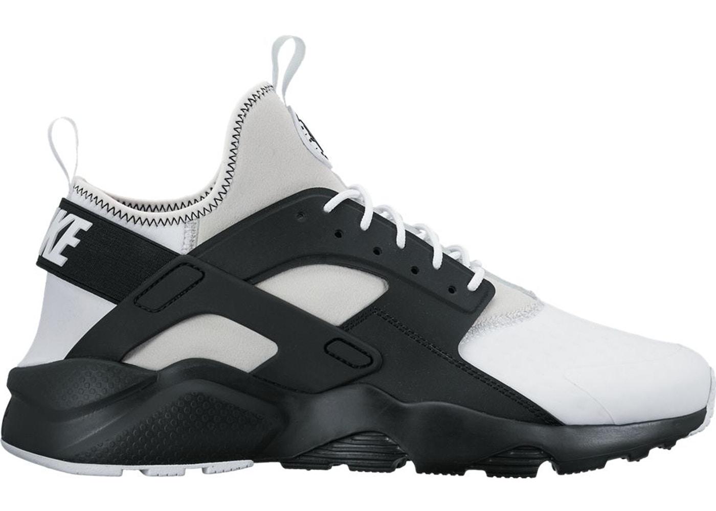 Nike Air Huarache Run Ultra White Black - 875841-100