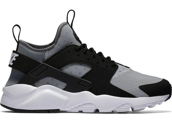 proposición Subir Idealmente  Nike Air Huarache Run Ultra Wolf Grey Black - 819685-010