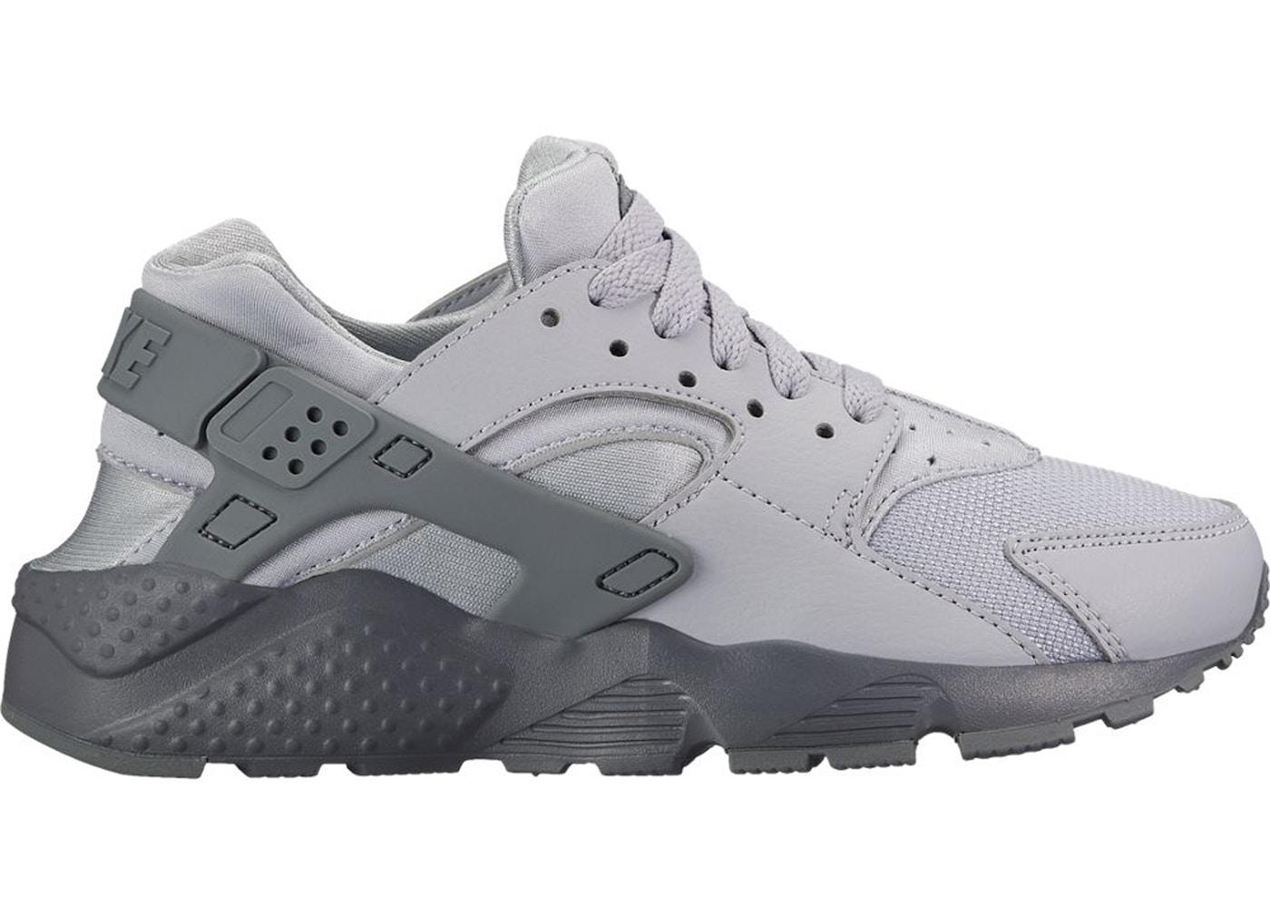 Nike Air Huarache Run Wolf Grey Cool Grey (GS) - 654275-032