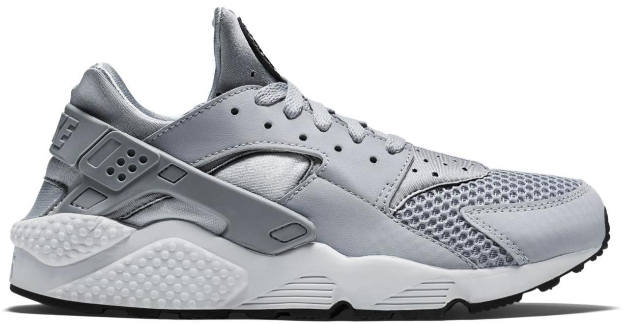 Nike Air Huarache Wolf Grey Platinum - 318429-014