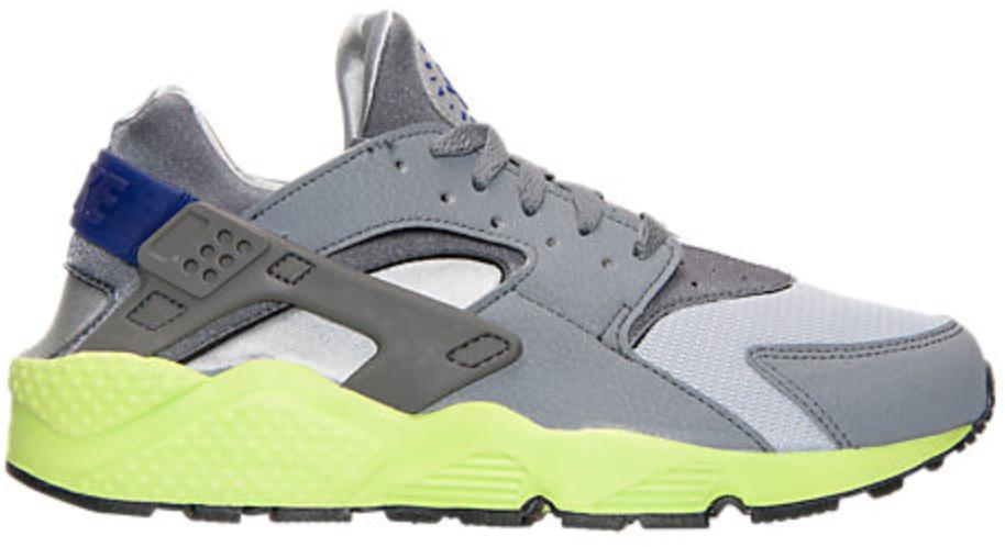 Nike Air Huarache Wolf Grey Volt