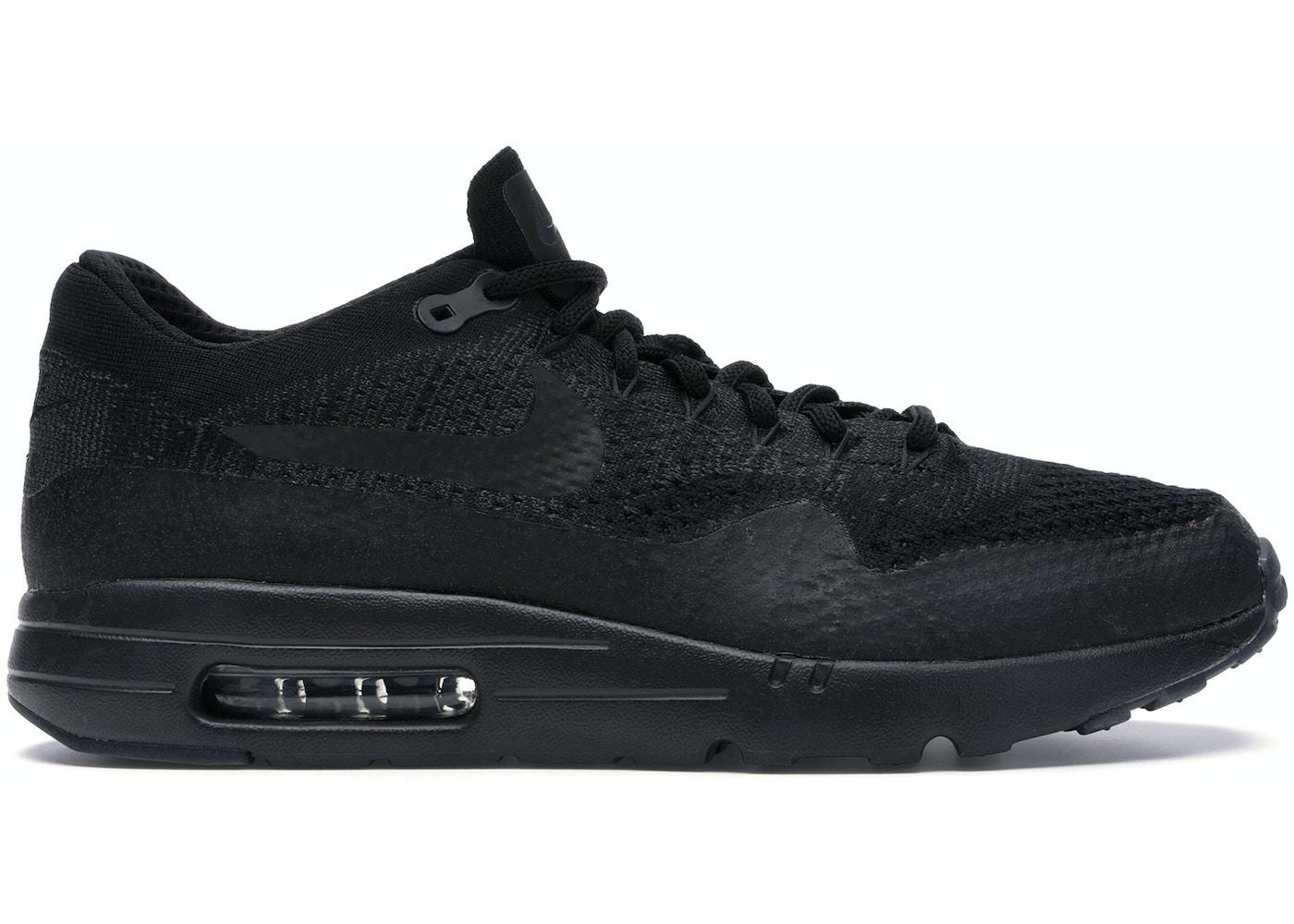 abrazo Odio escucho música  Nike Air Max 1 Ultra Flyknit Black/Black - 856958-001