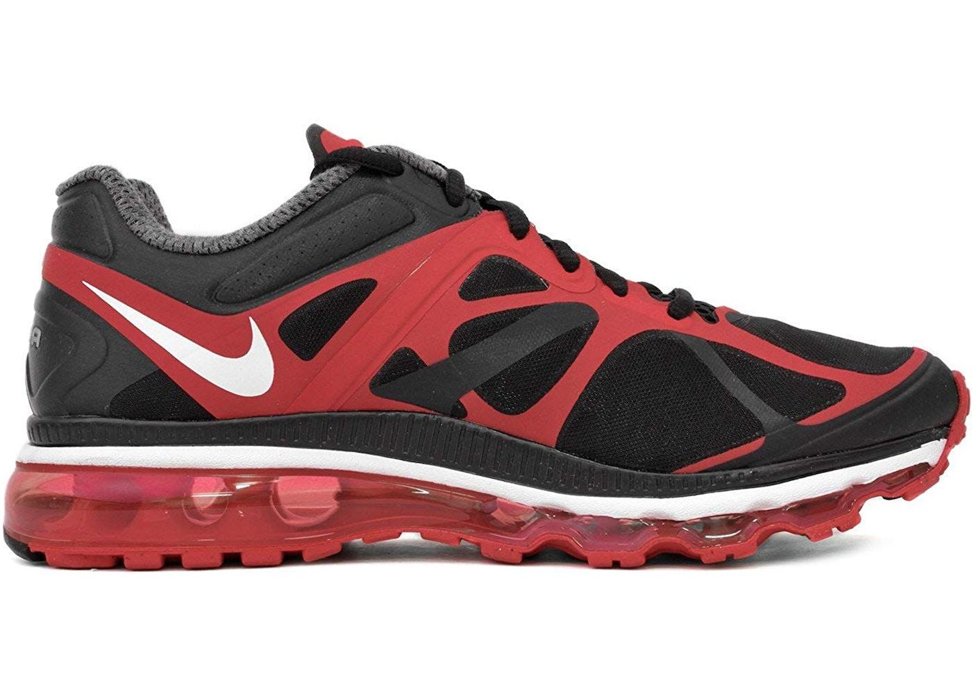 Nike Air Max 2012 Black Red - 487982-016