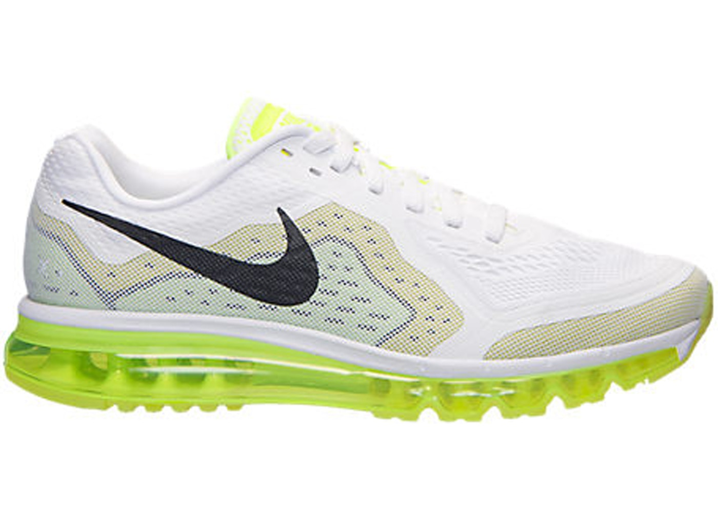 Asimilar capacidad Noble  Nike Air Max 2014 White Black Venom Green - 621077-103