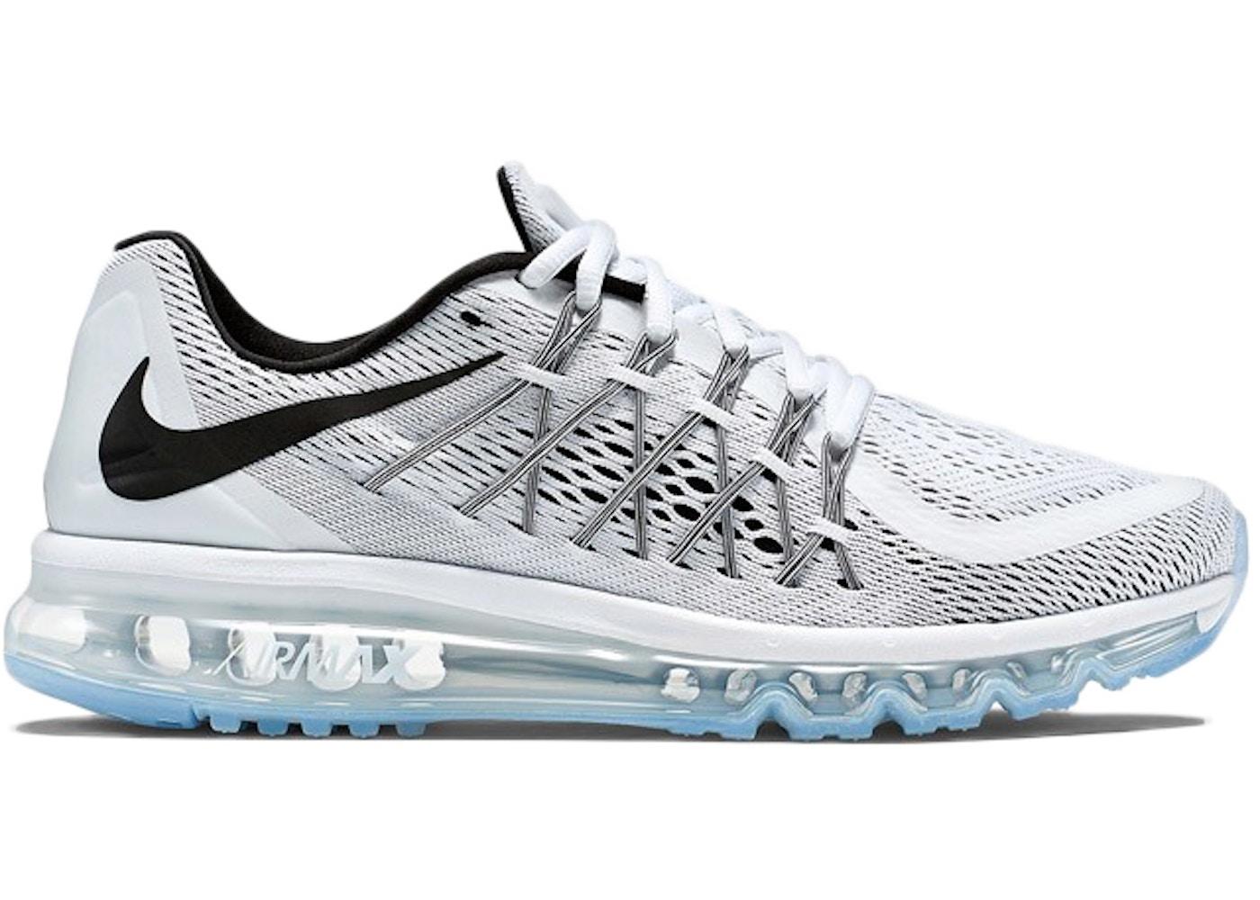unos pocos Embutido esculpir  Nike Air Max 2015 Black White - 698908-101