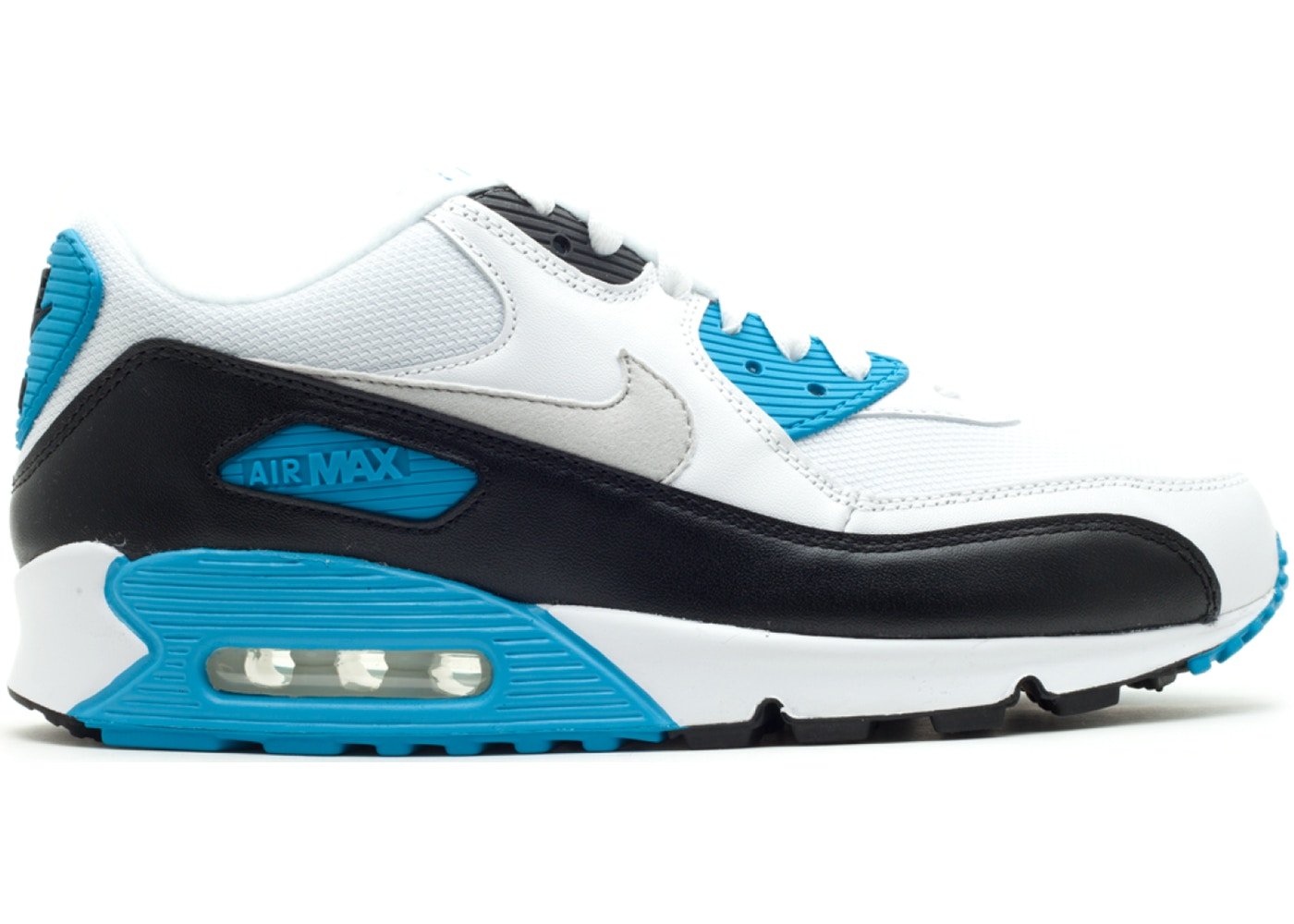 orden cavidad Volar cometa  Nike Air Max 90 Laser Blue (2010) - 325018-108
