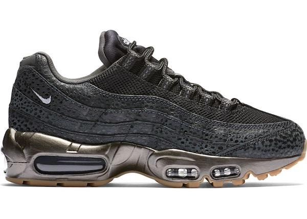 Correctamente Barbero Devorar  Nike Air Max 95 Black Metallic Hematite (W) - 807443-002