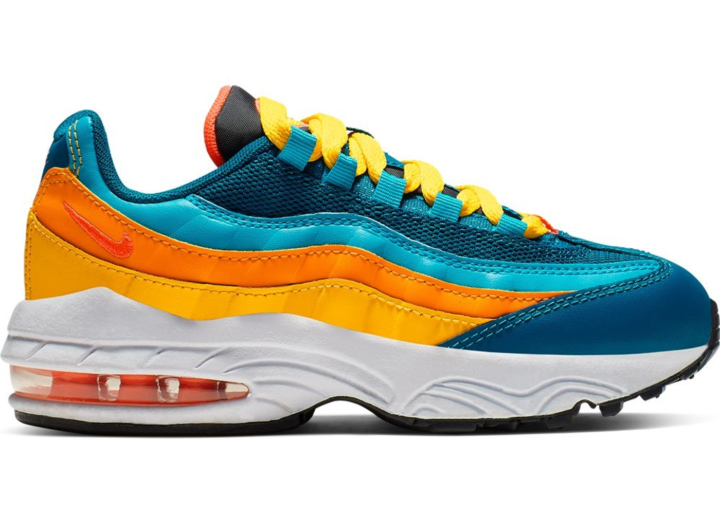 comunicación postura Mexico  Nike Air Max 95 Green Abyss Flash Crimson (PS) - CJ9990-300