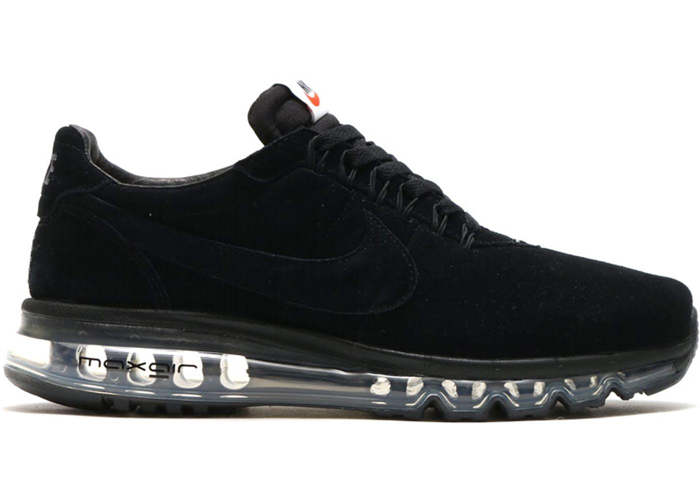 Guijarro ANTES DE CRISTO. En riesgo  Nike Air Max LD Zero Triple Black - 848624-001