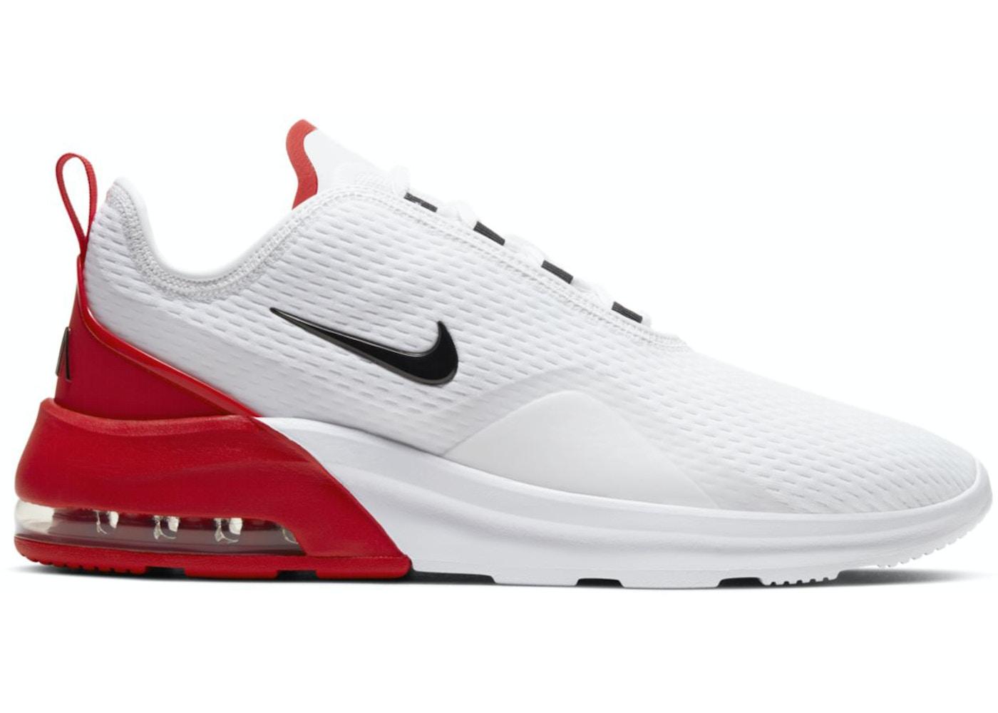 nieve Separar Mejor  Nike Air Max Motion 2 White University Red - AO0266-105