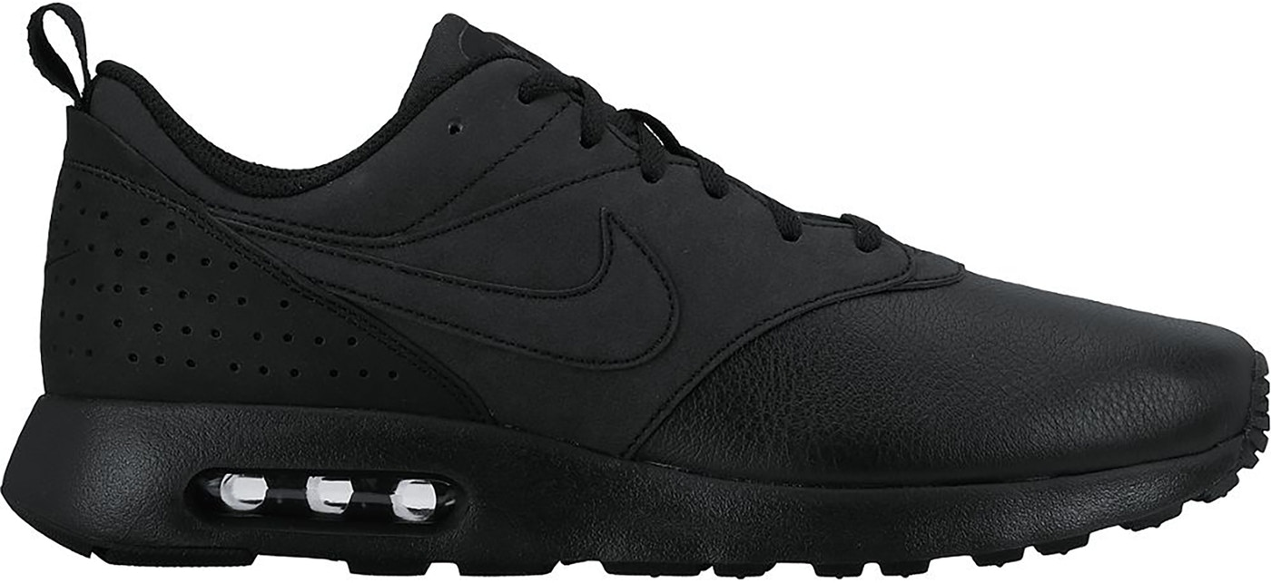Nike Air Max Tavas Leather Triple Black - 802611-002