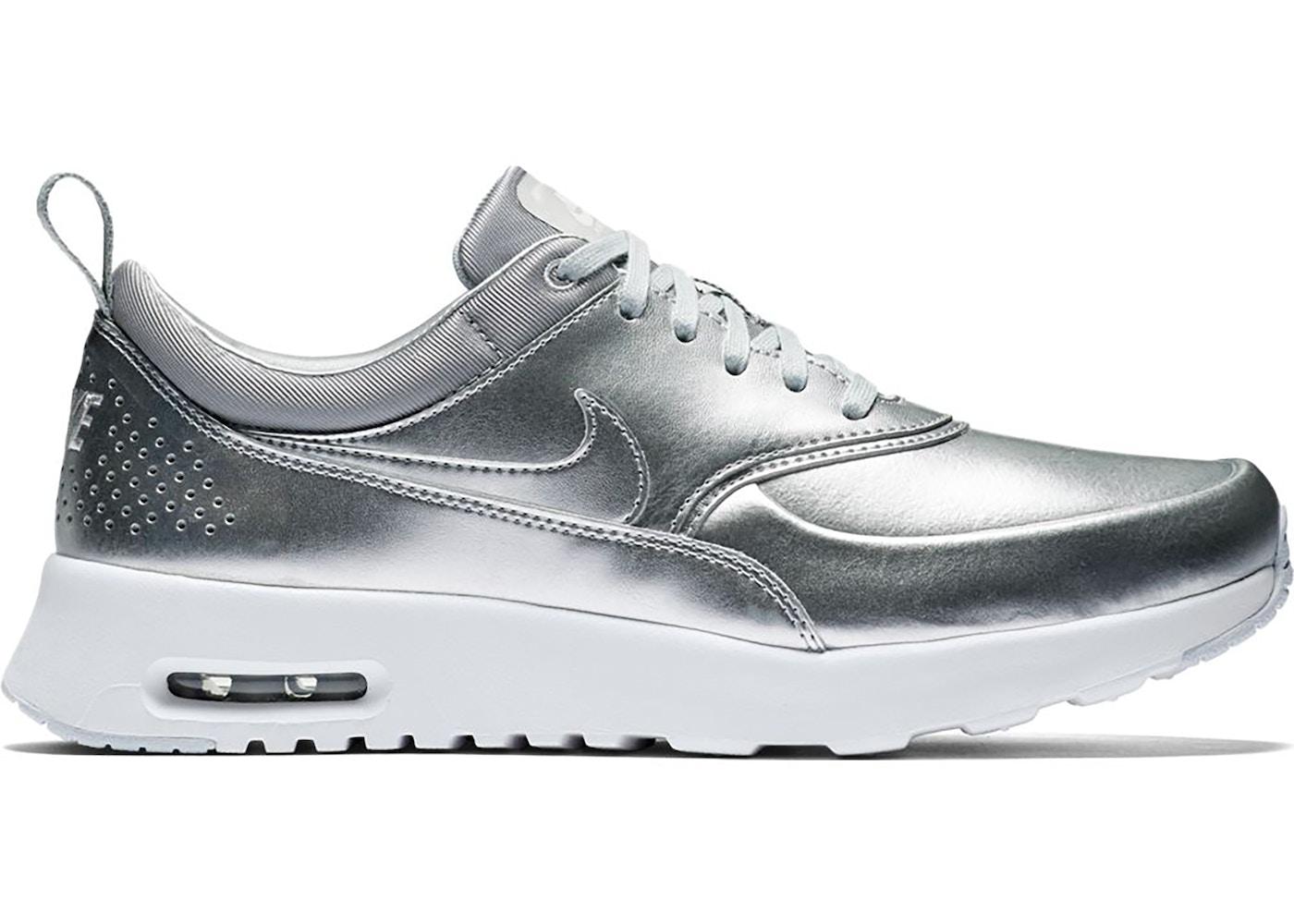 Plata Melbourne sangrado  Nike Air Max Thea Metallic Silver (W) - 819640-001
