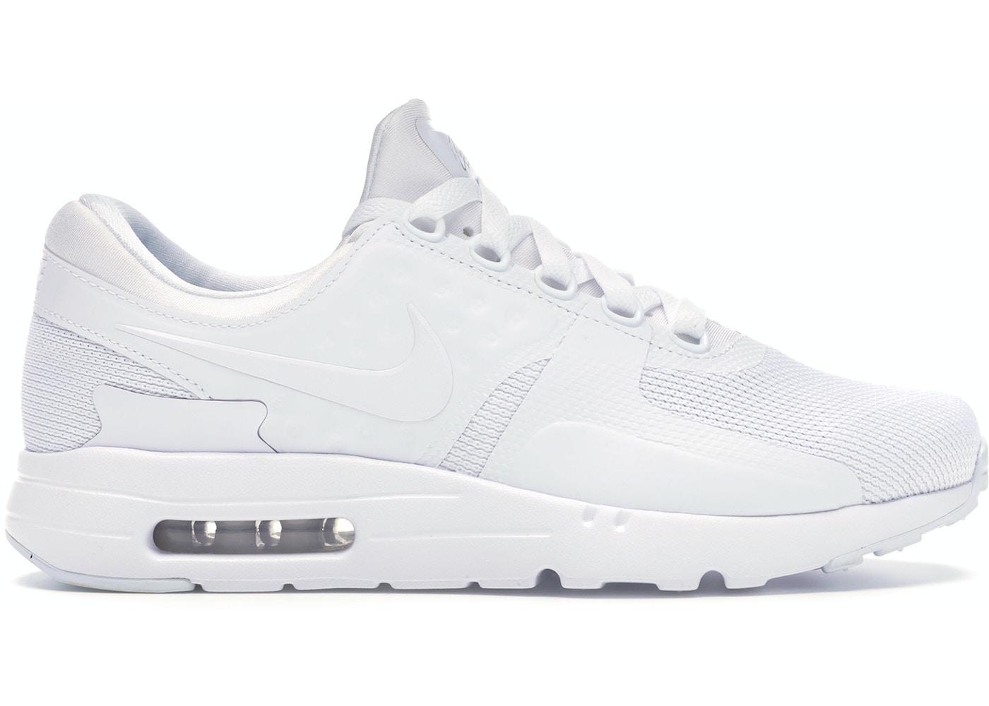 Necesitar barrera Competitivo  Nike Air Max Zero Essential White/White-Wolf Grey - 876070-100
