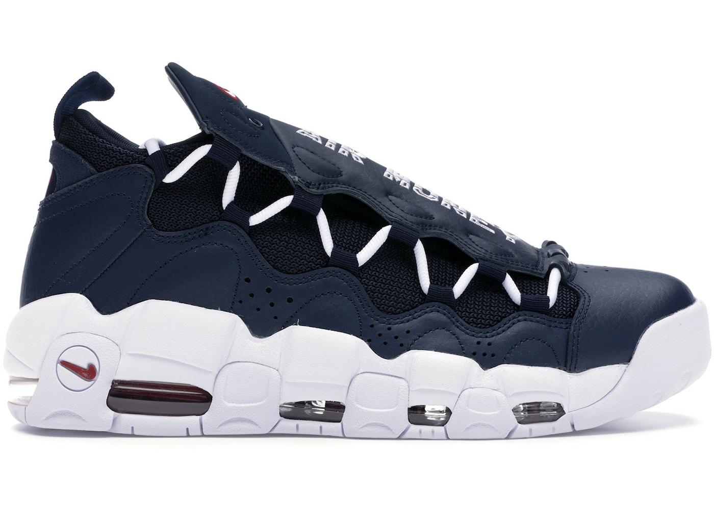 En detalle Privación Lógicamente  Nike Air More Money Obsidian - AJ2998-400