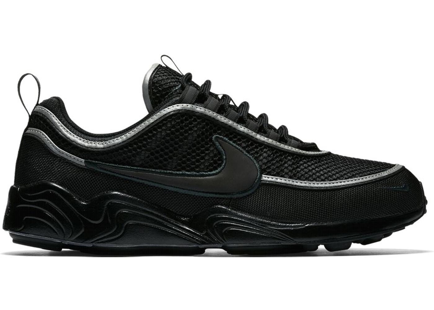 Won Ortodoxo Negar  Nike Air Zoom Spiridon 16 Black - 926955-001