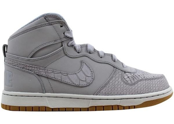 Exclusión Nutrición 945  Nike Big Nike High Lux Wolf Grey/Wolf Grey-Pure Platinum - 854165-002