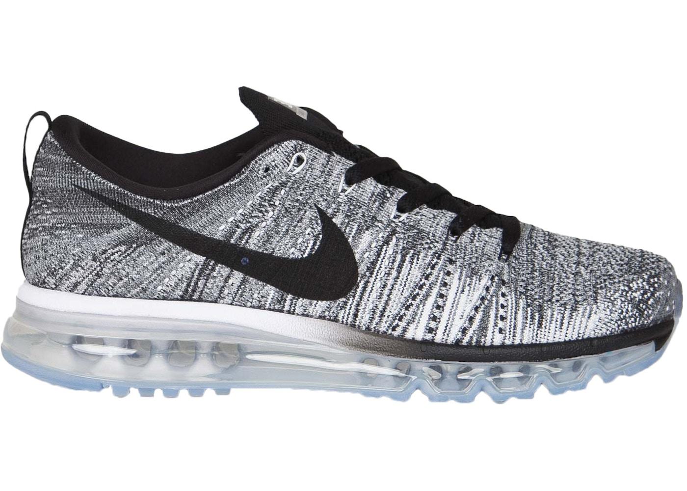 Nike Flyknit Air Max Oreo 620469 102