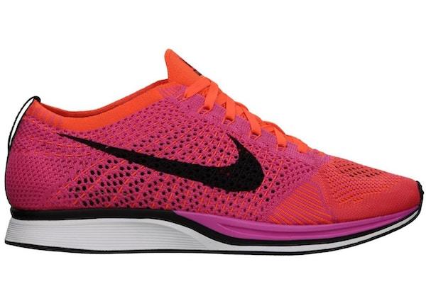 capturar Escuela primaria Generalmente hablando  Nike Flyknit Racer Pink Flash - 526628-600