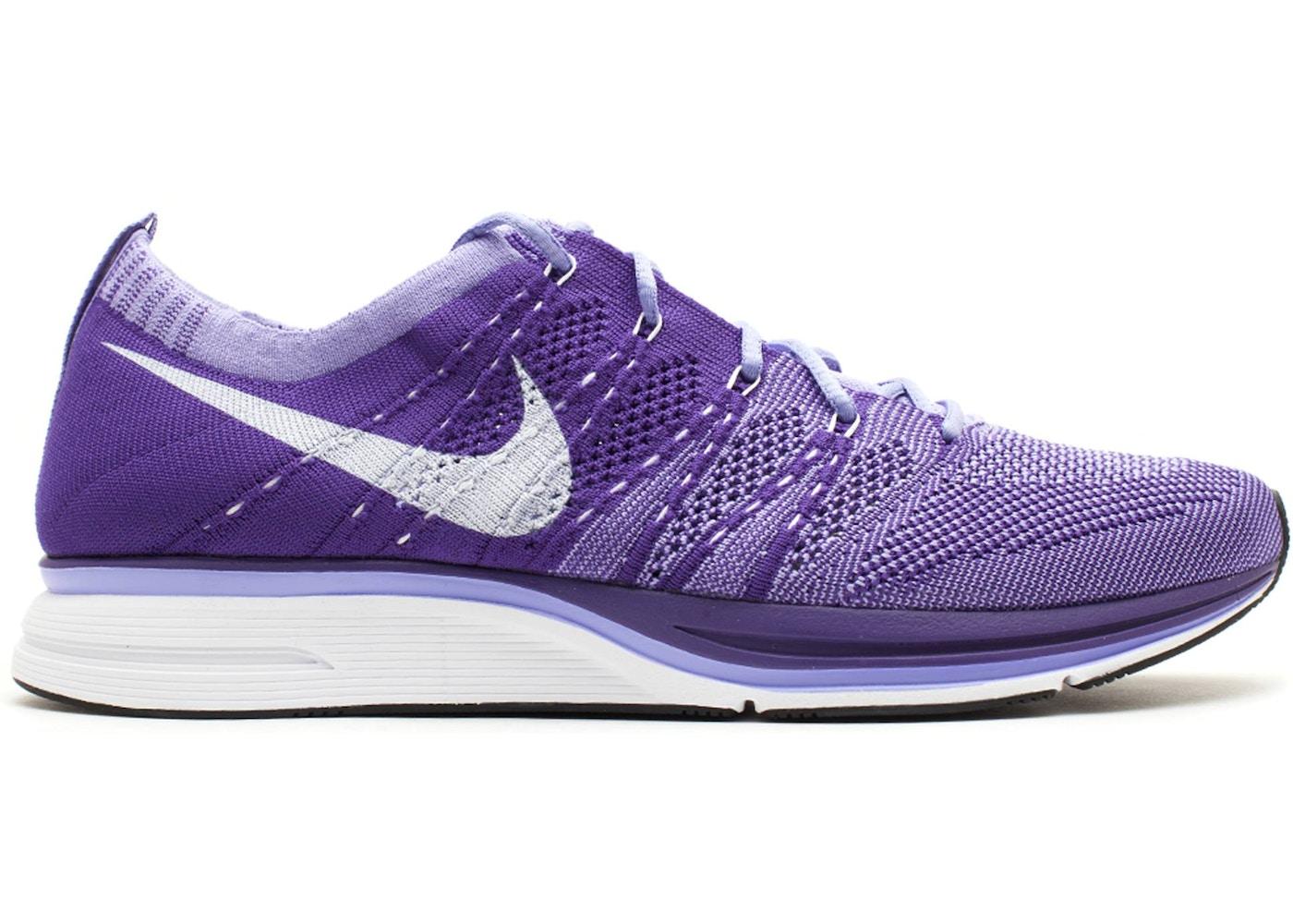 Posicionamiento en buscadores Típicamente popular  Nike Flyknit Trainer+ Court Purple - 532984-551
