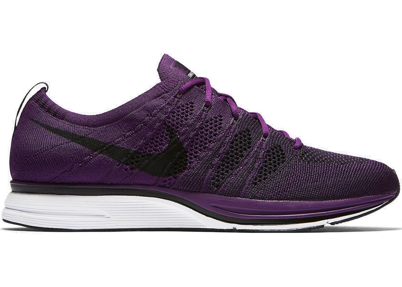 Convención Ciencias Altitud  Nike Flyknit Trainer Night Purple - AH8396-500