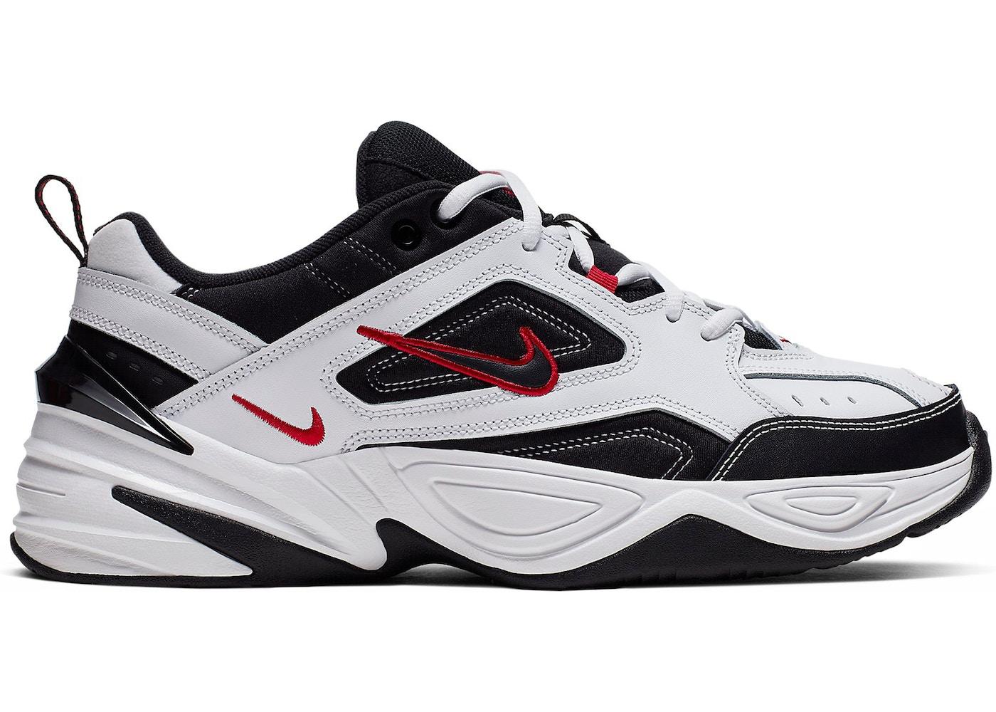 Respiración paquete plan de estudios  Nike M2K Tekno White Black Red - AV4789-104