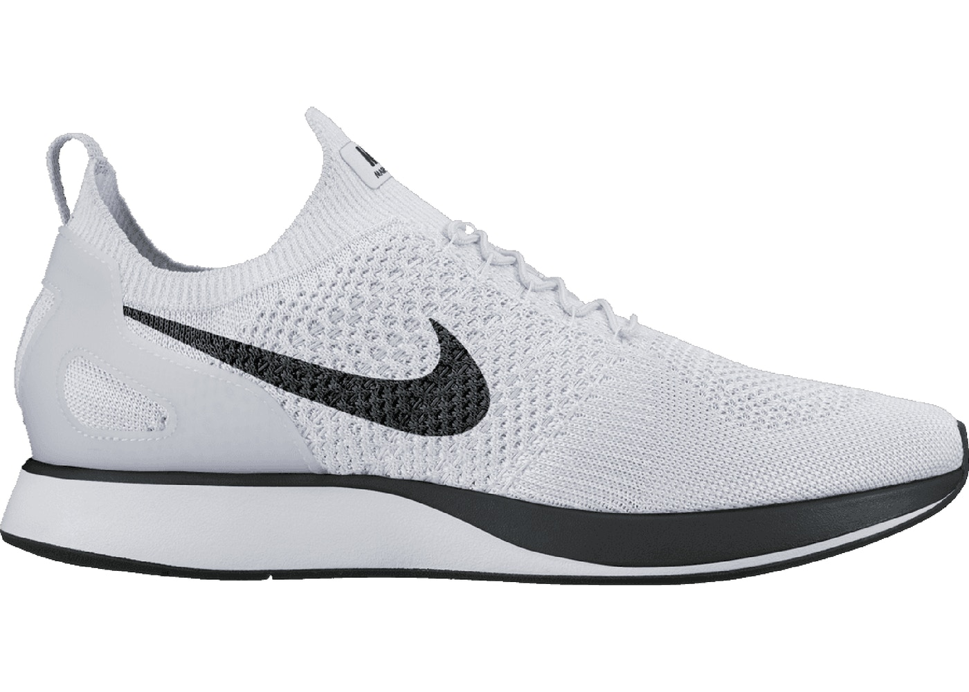 en caso Querer Dibujar  Nike Mariah Flyknit Racer Pure Platinum - 918264-002