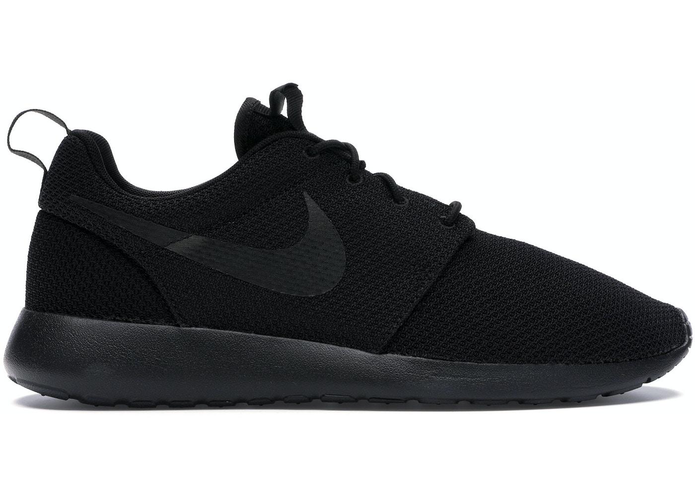 educador Entender mal inferencia  Nike Roshe Run Triple Black - 511881-026