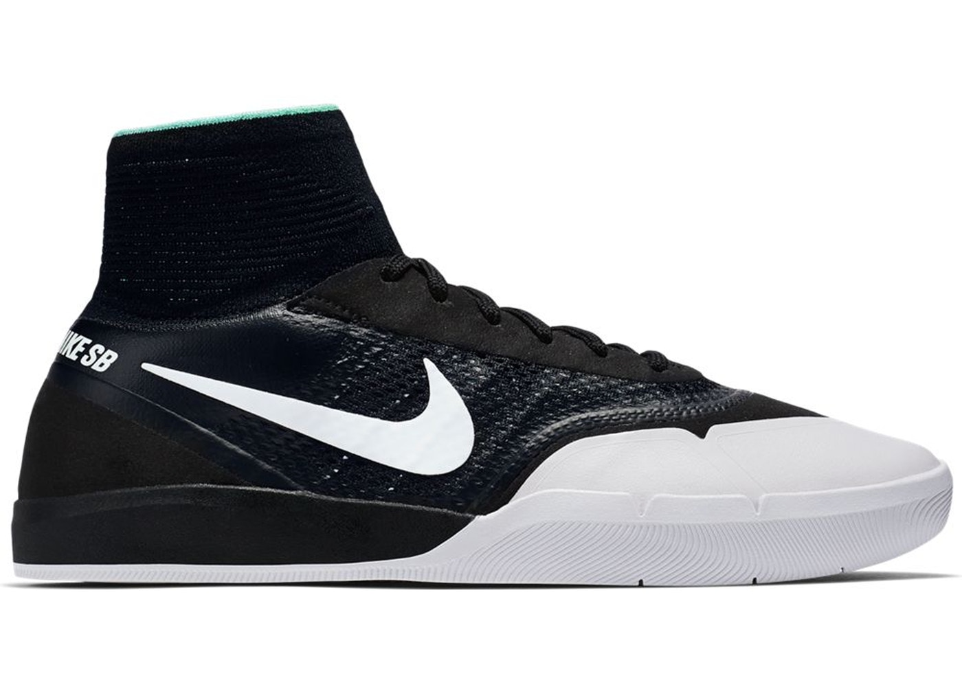 accidente venganza represa  Nike SB Hyperfeel Koston 3 Black White - 860627-010