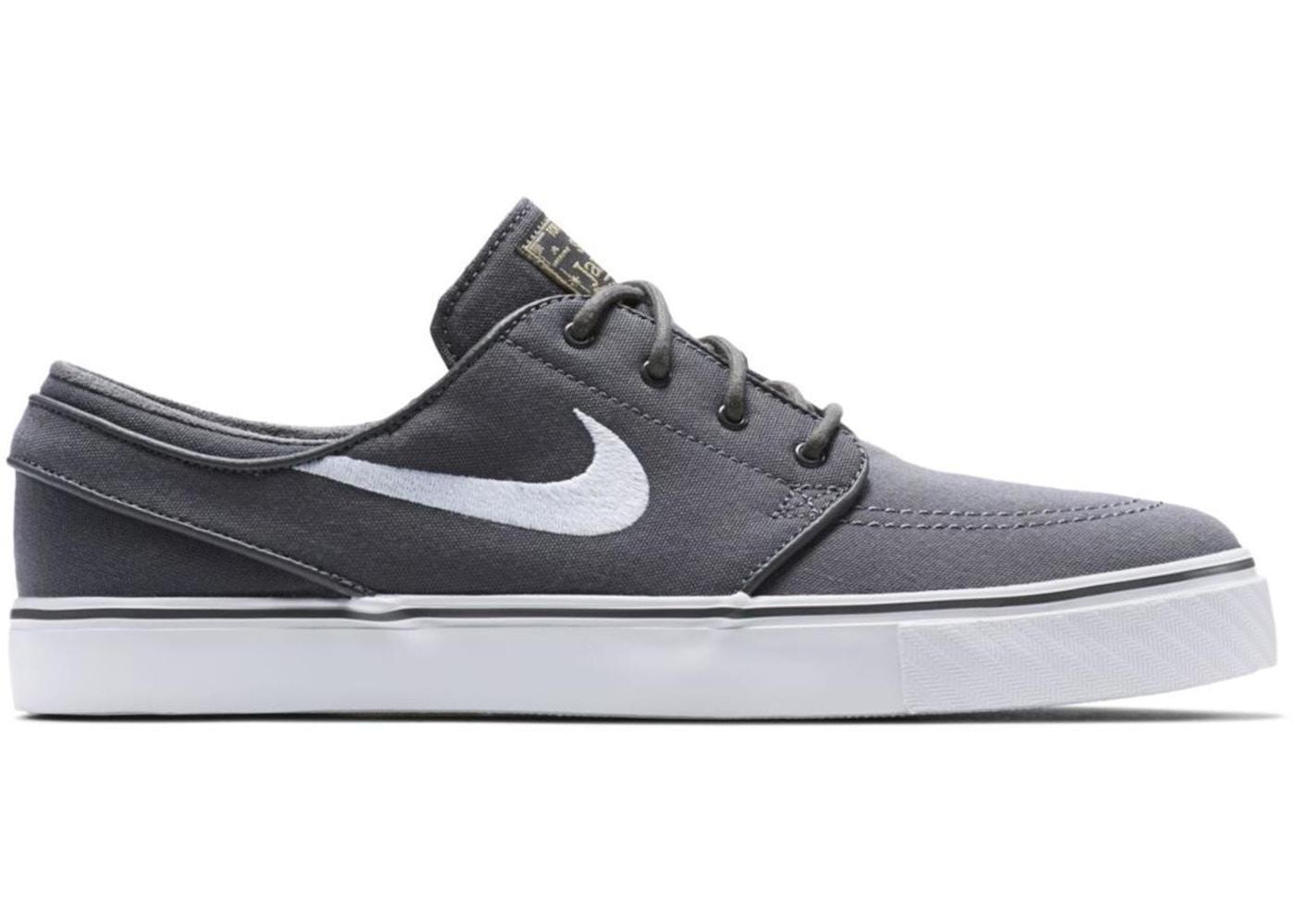Filadelfia suspender taburete  Nike SB Stefan Janoski Zoom Canvas Dark Grey - 615957-027