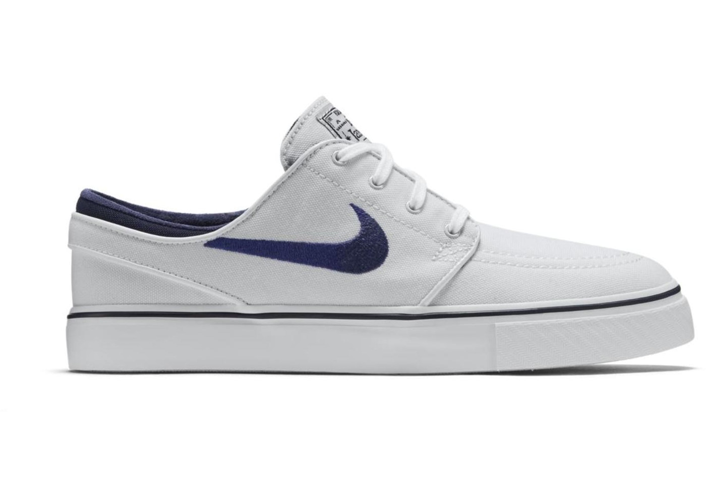 Nacarado Mojado Ocurrencia  Nike SB Stefan Janoski Zoom Canvas Summit White - 615957-104